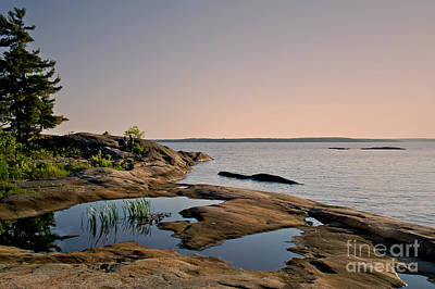 Photograph - Georgian Bay Twilight by Gerda Grice