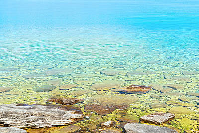 Photograph - Georgian Bay Waters Near Tobermory In Ontario Canada by Marek Poplawski
