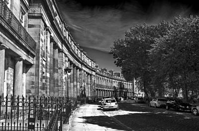 Photograph - Georgian Crescent by Ross G Strachan