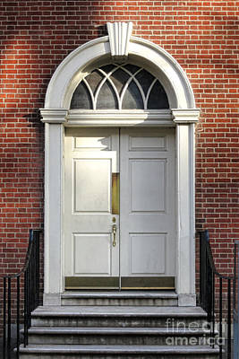 Philadelphia History Photograph - Georgian Door by Olivier Le Queinec