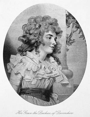 Duchess Painting - Georgiana Spencer (1757-1806) by Granger