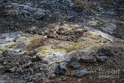 Geothermal Colors Art Print by Patricia Hofmeester
