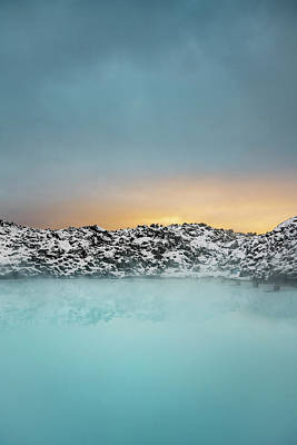 Photograph - Geothermal Hot Springs, Blue Lagoon by Arctic-images