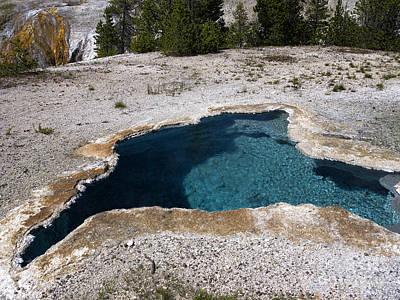 Photograph - Geothermal Magical Pool by Brenda Kean