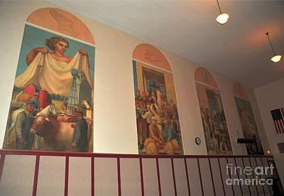 Clare Michigan Photograph - Gerald Mast Murals In Clare Michigan by Terri Gostola