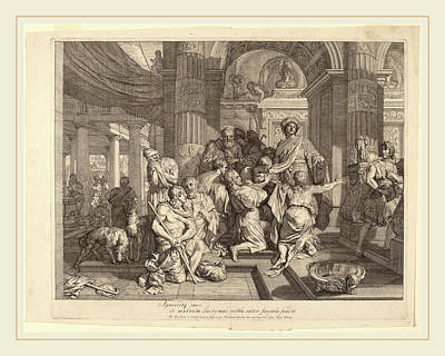 Gerard De Lairesse Dutch, 1641-1711, Joseph Reveals Himself Art Print