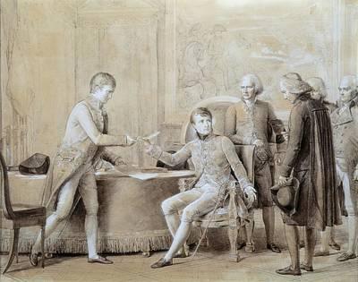 Gerard, Fran�ois 1770-1837. Signature Art Print by Everett