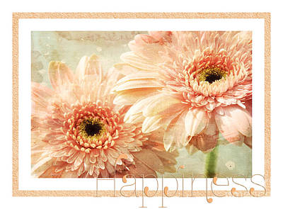 Gerber Daisy Photograph - Gerber Daisy Happiness 2 by Andee Design