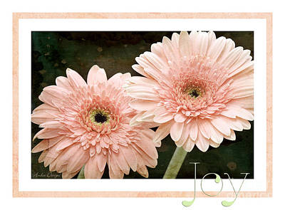 Photograph - Gerber Daisy Joy 5 by Andee Design