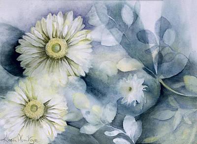 Gerbera Daisy Painting - Gerbera Jameson II by Karen Armitage