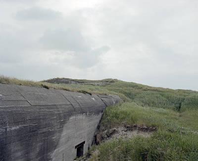 German Atlantic Wall Bunker Original by Jan W Faul