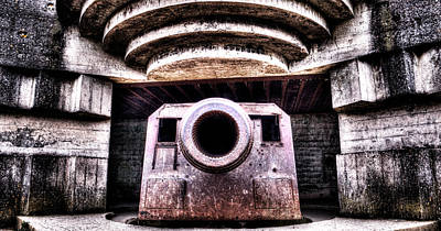 Photograph - German Battery Canon 1 by Weston Westmoreland