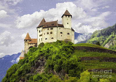 Photograph - German Burg by Sharon Foster
