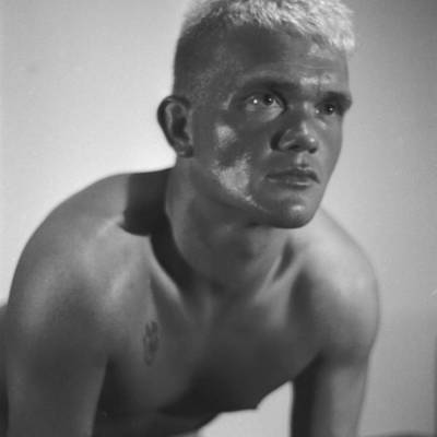 Photograph - German Cheek Bones Blond by JD Harvill