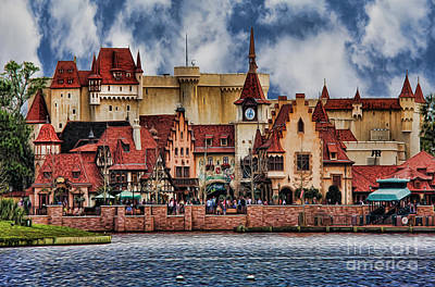 Photograph - German Lakeside Castle II by Lee Dos Santos
