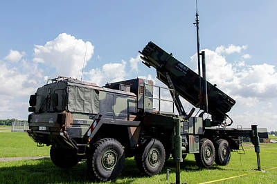 German Patriot Surface-to-air Missile Art Print by Timm Ziegenthaler