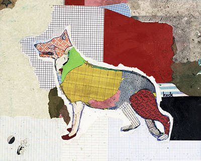 German Shepherd Print by Michel Keck