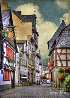 German Village Art Print by Juli Scalzi