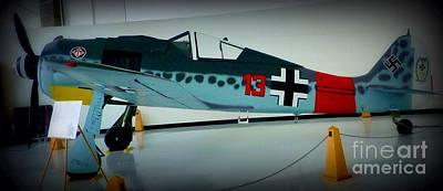 Photograph - German Vintage Airplane by Susan Garren