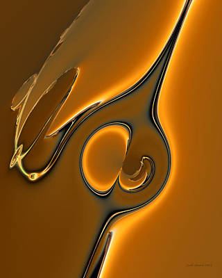 Digital Art - Germane by Judi Suni Hall