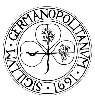 Germantown Seal, 1691 Art Print