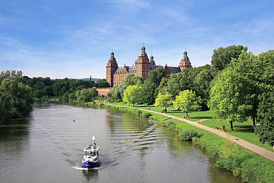 Johannesburg Photograph - Germany, Aschaffenburg, Schloss (castle by Miva Stock