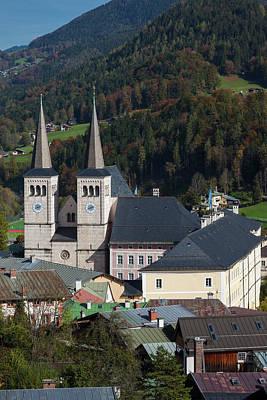 Bayern Photograph - Germany, Bavaria, Berchtesgaden by Walter Bibikow