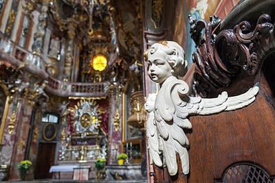 Germany, Bavaria, Munich, Assamkirche Art Print by Walter Bibikow