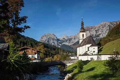 Bayern Photograph - Germany, Bavaria, Ramsau, Ramsau by Walter Bibikow