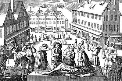 Germany Merchants, 1637 Art Print by Granger