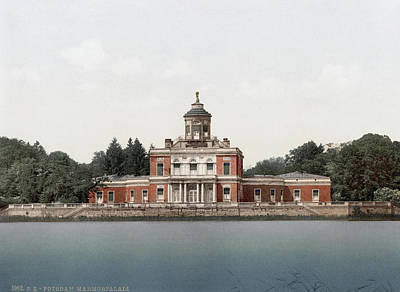 1900 Architecture Painting - Germany Potsdam, C1900 by Granger