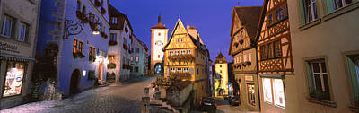 Germany, Rothenburg Ob Der Tauber Print by Panoramic Images