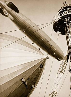 Propaganda Photograph - Germanys Two Mighty Airships, The Graf by German Photographer