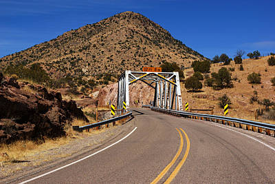 Photograph - Geronimo Byway Bridge by Daniel Woodrum