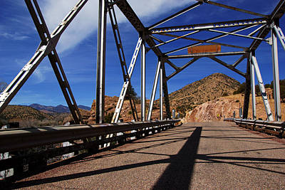 Photograph - Geronimo Byway Bridge No.2 by Daniel Woodrum