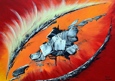 Geronimo Art Print by Thierry Vobmann