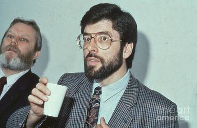 Photograph - Gerry Adams by David Fowler