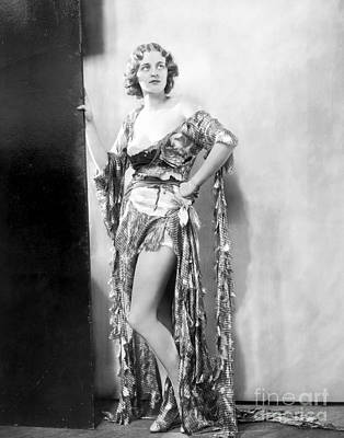 Glamour Photograph - Gertrude Dahl by MMG Archives