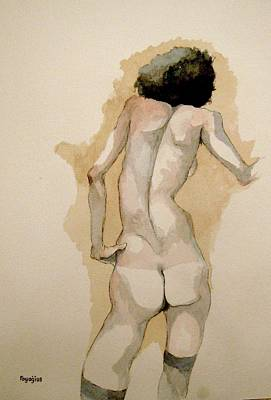Gertrude Schiele Art Print by Ray Agius