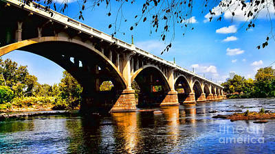 Photograph - Gervais St Bridge by Patricia L Davidson