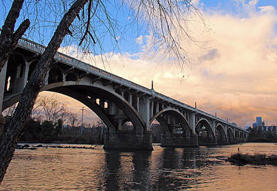 Photograph - Gervais Street Bridge by Joseph C Hinson Photography