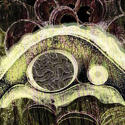 Manifestations Digital Art - Gestalt by Maria Jesus Hernandez