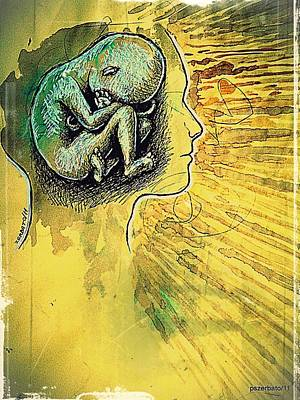 Gestation Of Ideas Art Print