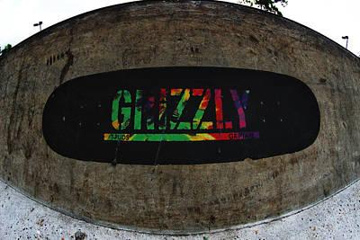 Grip Tape Photograph - Get A Grip by Mick Logan
