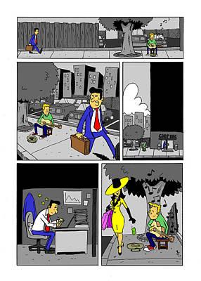 Get A Real Job Art Print by James Francis