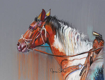 Get Along Home Susie Art Print by James Skiles