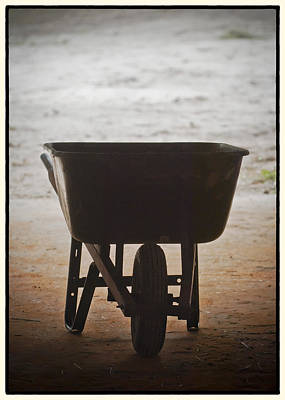Wheel Barrow Photograph - Get Back To Work by Patrick M Lynch