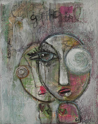 Painting - Get It Girl by Laurie Maves ART