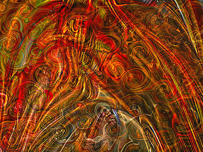 Get Lost In My World Art Print by Omaste Witkowski