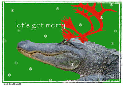 Digital Art - Get Merry by Lizi Beard-Ward